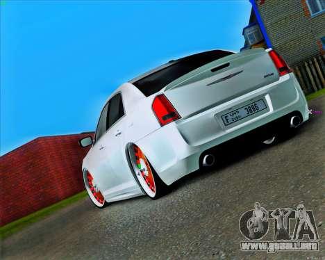 Chrysler 300C SRT-8 MANSORY_CLUB para GTA San Andreas vista posterior izquierda