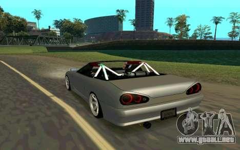 Elegy Cabrio para GTA San Andreas left