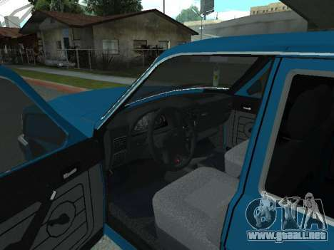GAS 31022 para GTA San Andreas vista hacia atrás