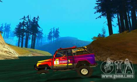 UAZ Hunter juicio para visión interna GTA San Andreas
