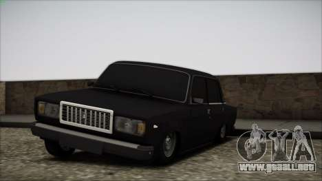 VAZ 2107 para vista lateral GTA San Andreas