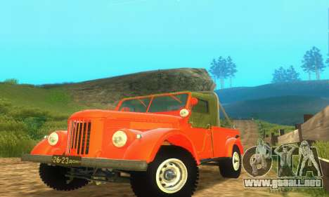 GAZ 69 Pickup para GTA San Andreas left