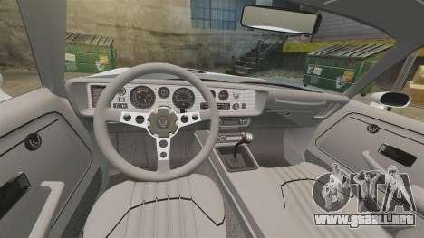 Pontiac Turbo TransAm 1980 para GTA 4 vista hacia atrás