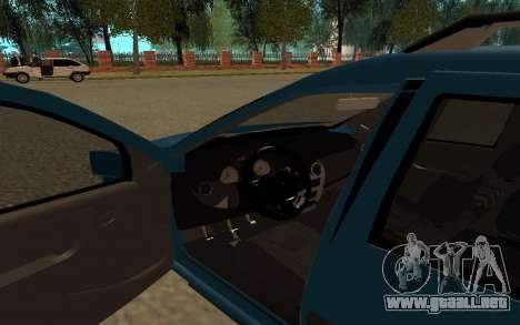 Lada Largus para GTA San Andreas vista hacia atrás
