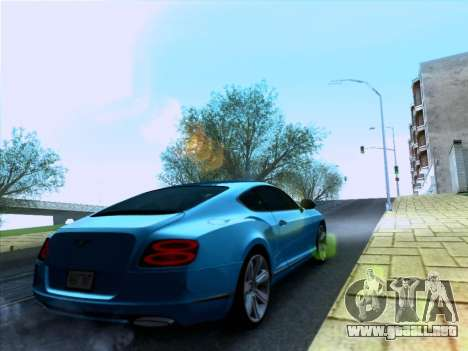 Bentley Continental GT Final 2011 para GTA San Andreas left