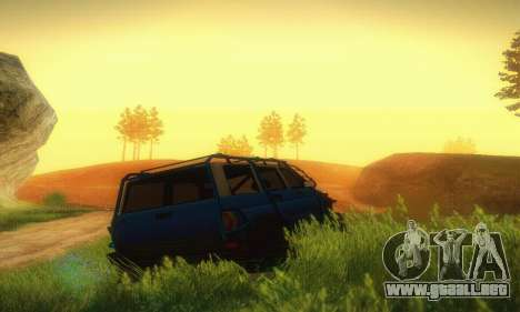 UAZ Patriot para visión interna GTA San Andreas