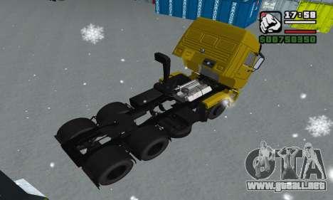 KAMAZ 65116 para las ruedas de GTA San Andreas