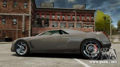 Cadillac Cien XV12 [EPM] para GTA 4 left