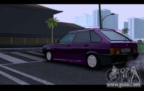 VAZ 21093 para visión interna GTA San Andreas