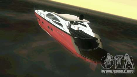 Cartagena Delight Luxury Yacht para GTA Vice City visión correcta