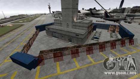Zona de combate para GTA 4 adelante de pantalla