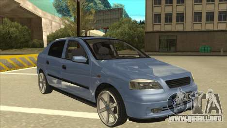 Opel Astra G Stock para GTA San Andreas left