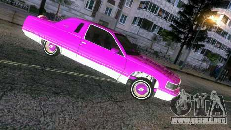 Cadillac Fleetwood Coupe para GTA Vice City vista lateral izquierdo