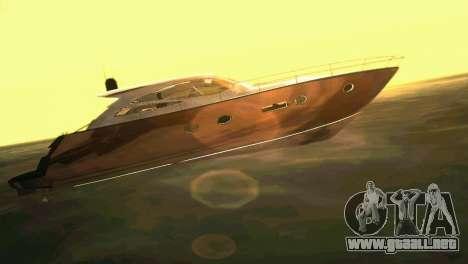Cartagena Delight Luxury Yacht para GTA Vice City