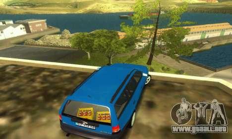 Opel Astra F Caravan para GTA San Andreas vista posterior izquierda