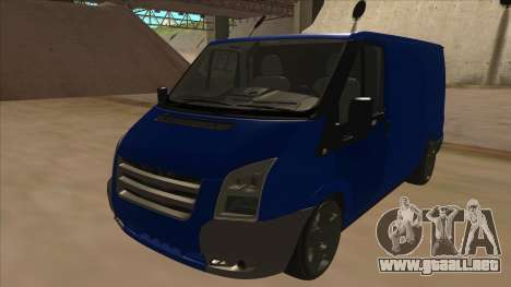 Ford Transit Swb 2011 Stance para GTA San Andreas