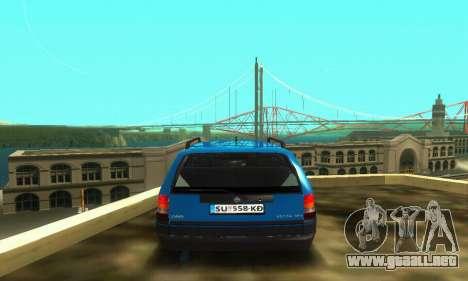 Opel Astra F Caravan para visión interna GTA San Andreas