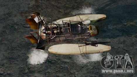 Bote de aire para GTA 4 visión correcta
