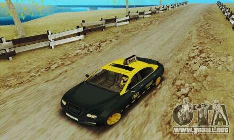 Taxi mercenarios 2 para GTA San Andreas left