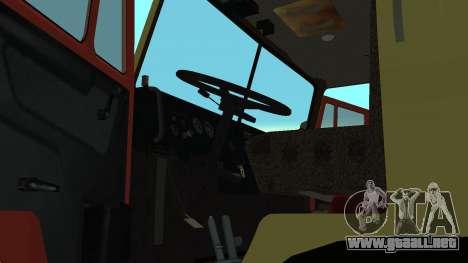 Luces de peligro KAMAZ 4310 para la visión correcta GTA San Andreas