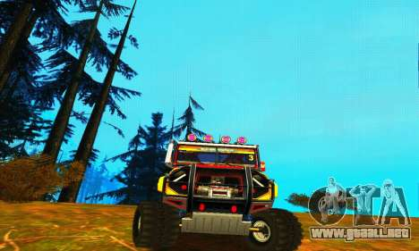 UAZ Hunter juicio para GTA San Andreas left