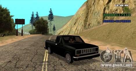 NEW Bobcat para GTA San Andreas left