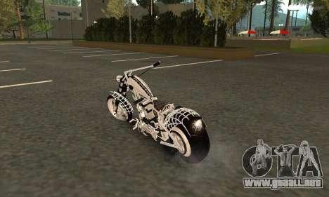 Black Widow para GTA San Andreas vista posterior izquierda