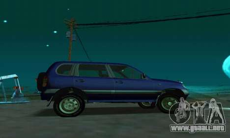 21236 Chevrolet Niva VAZ para GTA San Andreas left