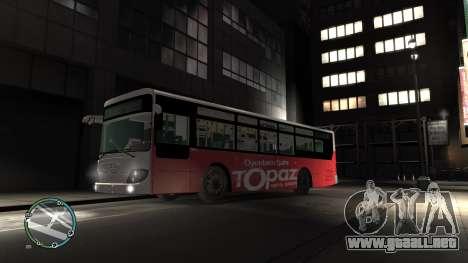 Daewoo BC211MA Baku para GTA 4 left