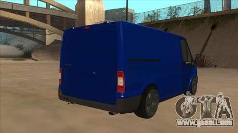 Ford Transit Swb 2011 Stance para la visión correcta GTA San Andreas