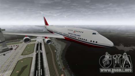 El avión de Turkish Airlines para GTA 4