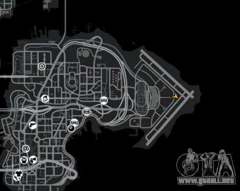 Zona de combate para GTA 4 sexto de pantalla