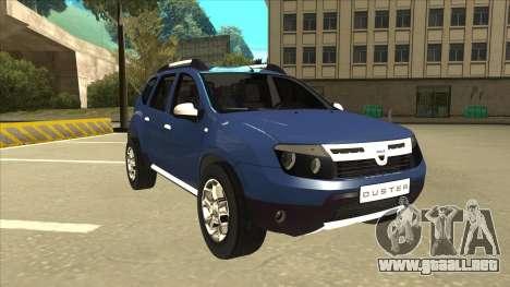 Dacia Duster 2014 para GTA San Andreas left