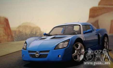 Opel Speedster Turbo 2004 para las ruedas de GTA San Andreas