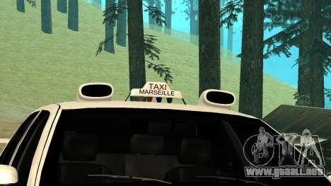 Peugeot 406 Grizzli para la visión correcta GTA San Andreas