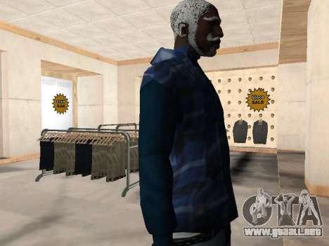 La nueva chaqueta CJ para GTA San Andreas tercera pantalla
