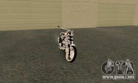 Black Widow para GTA San Andreas left