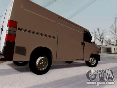 Fiat Ducato Cargo para GTA San Andreas left