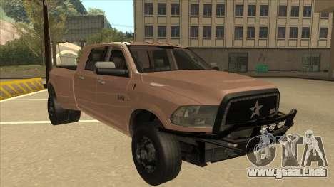 Dodge Ram [Johan] para GTA San Andreas left