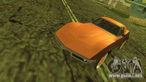 Chevrolet Corvette C3 Tuning para GTA Vice City vista lateral