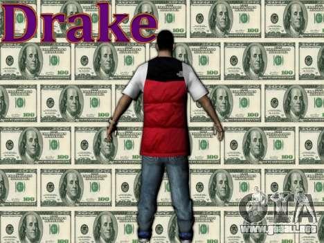 Drake para GTA San Andreas segunda pantalla