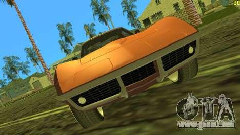 Chevrolet Corvette C3 Tuning para GTA Vice City left