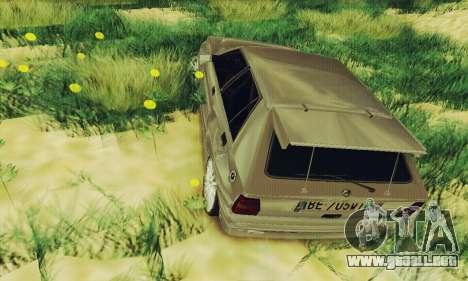 Lancia Delta HF Integrale para GTA San Andreas vista hacia atrás