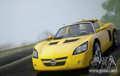 Opel Speedster Turbo 2004 para el motor de GTA San Andreas
