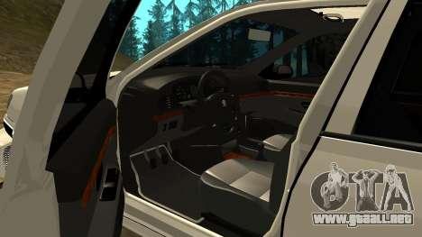 Peugeot 406 Grizzli para vista lateral GTA San Andreas