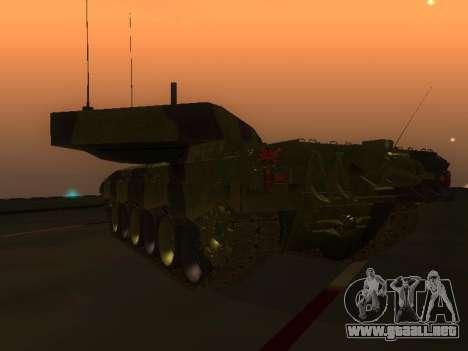 Challenger 2 para la visión correcta GTA San Andreas