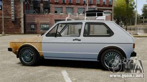Volkswagen Golf MK1 GTI Rat Style para GTA 4 left