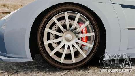 Chrysler ME Four-Twelve [EPM] para GTA 4 vista hacia atrás