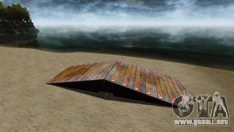 Casa de playa para GTA 4 octavo de pantalla
