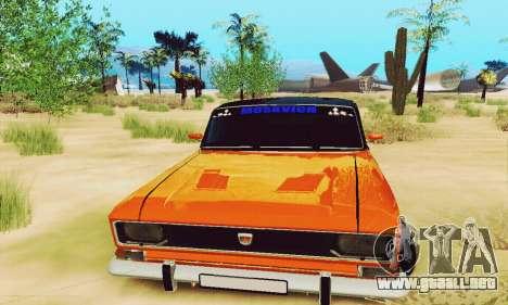 Moskvich 2140 para visión interna GTA San Andreas